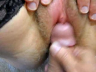 Rubbing Wife's Swollen Clit And Cumming On It Free Porn 60