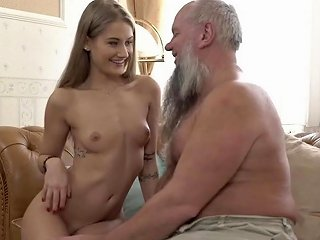 Old Pervert Gets Rock Hard From Fresh Young Teen Porn Ac