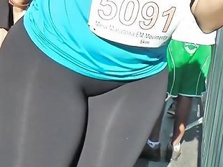 Massive Ass In See Through Leggings Free Porn Ca Xhamster