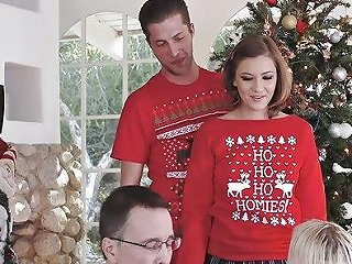 Familystrokes Fucking My Sis During Holiday Christmas