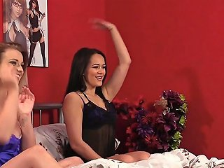 Lingerie Dominas Laughing