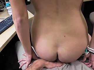 French Maid Hardcore And Teen Babe Ass College Student Banged In My Pawn Shop