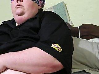 Fat Denny 039 S Waitress Masturbates Before Work