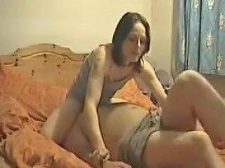 Dominant Brunette Girlfriend Facesits Her Stupid Boyfriend