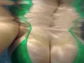 Codi Vore Plays With Huge Tits Underwater