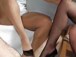 Twin Shoejob Free High Heels Porn Video De Xhamster