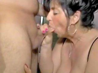 BBW German Granny Fucked