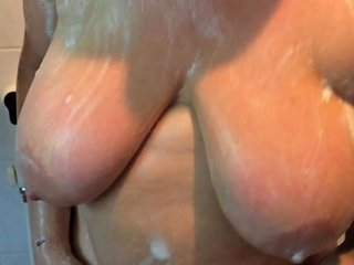 My Wife Soaping Her Big Tits Free Big Wife Hd Porn E0
