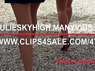 Plying Penis And Tennis With Louboutin High Heels Porn 95