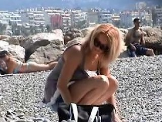 Beautiful Milf Undressing On The Beach Porn Fe Xhamster