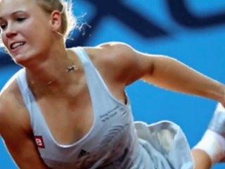 Sexy Tennis Beauties Ivanovic Wozniacki Sharapova Porn D0