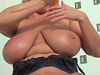 Mature Soccer Mom With Big Tits Fucks A Dildo Free Porn 5a