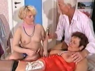 German Mature Threesome Shaving Fisting Anal Porn 9a