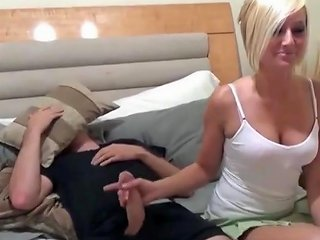 Shy Brother With Monster Cock Fucks His Horny Step