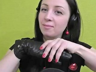The Magic Sound Of Leather Gloves For Relaxing And Contemplating