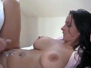 Son Fuck Mom Hard In Ass