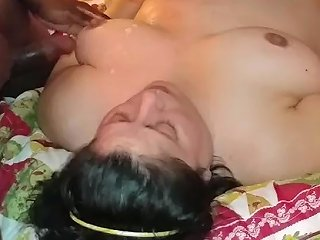 Bbw Marie Takes 2 Bbc 039 S And A White Cock Back To Back With 3 Loads Of Cum