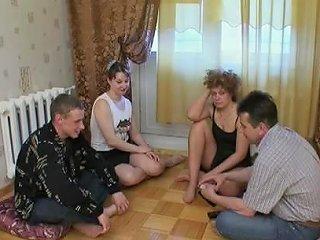 Russian Strip Poker Swinger Couples 1 Porn 0e Xhamster
