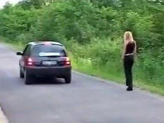 Blond Hitchhiker Gives Ass Txxx Com
