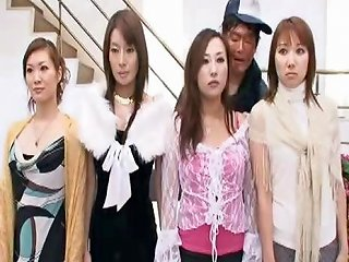 Zombie Asian Chicks Do As They're Told And Suck Cock And
