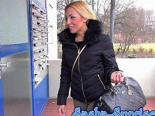 Sasha Sunrise Mein 1 Sandwich Mmf Anal German Teen