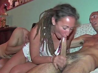 Daniela Di Ladispoli E La Cicciona Orgia E Dp