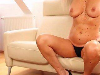 Mercedes Silver Solo Masturbation Pussy Rub Free Porn Ad