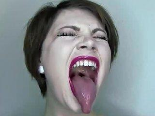 Lipstick Coated Mouth Fetish Free Lipstick Fetish Porn Video
