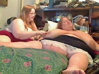 Horny Fat Obese Lesbians Playing With Each Other Porn 87