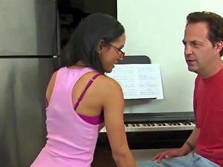 Real Petite Pussyfucked After Piano Lesson Free Hd Porn 82
