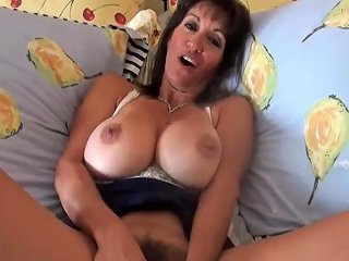 Hairy Milf With Great Pussy Lips Enjoys Cock Creampie