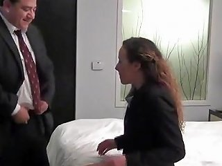 Fat Boss Fuck His Young Married Secretary In Hotel Porn 16