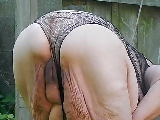 Outside Showing Off In Garden Free Mature Hd Porn 42