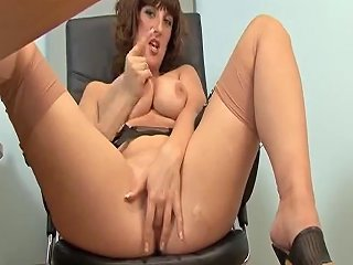 Hawt Older Secretary Full Fashion Nylons Porn B4 Xhamster