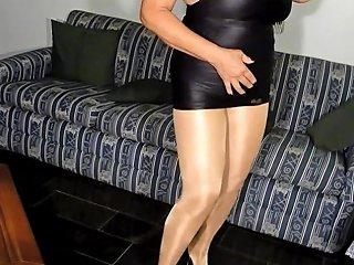 Sexy Granny In Shiny Pantyhose Free In Mobile Hd Porn 4e