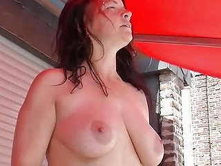 Step Son Seduce Stepmother To Fuck Outdoor While