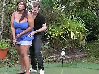 Fat Black Hottie Is Pounded By A Golf Coach Free Porn 9f
