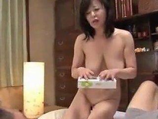 Dad's Cock Doesn't Work Japanese Mom Looks For Son's