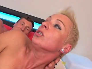 German Mom Mandy Mystery Wakes Up Son With Blowjob Porn E6