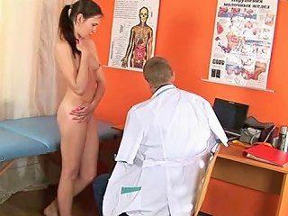 Shy Babe Visits A Gynecologist Free Special Examination Porn Video