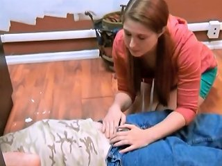 Adorable Girl Helping Old Repairman Free Porn D9 Xhamster