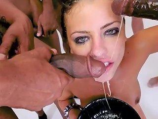 A C Amazing Sloppy Blowbang Throat Fuck Porn 51 Xhamster