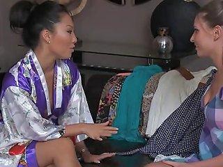 Nurunetwork Asa Akira Lesbian Nuru Massage Sex Hd Porn A7