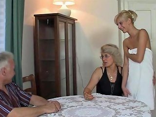 Old Couple Have Fun With Son's Gf Free Porn 8e Xhamster