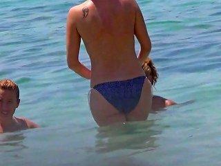 Incredible Sister Beach Topless Ibiza Porn 2b Xhamster
