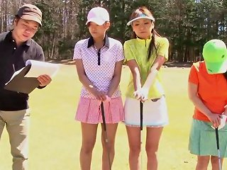 Golf Whore Gets Teased And Creamed By Two Guys Hd Porn B6