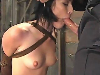 Slut Is Bound Deepthroated Punished And Humiliated