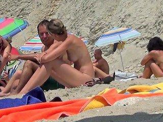Blond Ibiza Tiny Topless Incredible Beach Free Porn F3