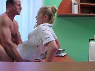 Fakehospital Sexy Nurse Gets Creampied By Doctor Porn 37