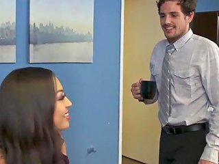Salaciously Curvy Office Chick Karissa Gives In The The Cheesy Pick Up Lines Hdzog Free Xxx Hd High Quality Sex Tube